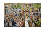 Beer Hall Scene  Germany