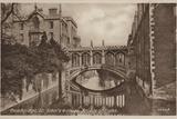 St John's College  Bridge of Sighs  Cambridge