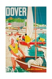 Dover  Poster Advertising British Railways  1963