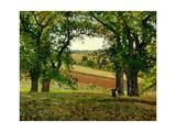 Chestnut Trees at Osny  C1873