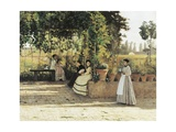 The Pergola  1868
