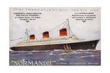 French Ocean Liner Normandie