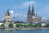 Germany - Cologne View with Cathedral