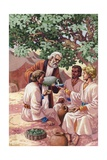 Abraham Entertaining the Three Strangers