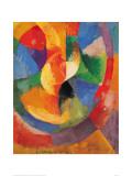 Formes Circulaires-Soleil 3 Giclée par Robert Delaunay