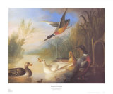 Waterfowl in a Landscape