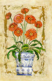 Ceramica con Gerberas