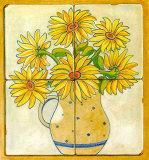 Jarras con Flores II