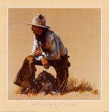 Amis fidèles Reproduction d'art par William Matthews