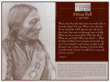 Sitting Bull Reproduction d'art