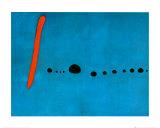 Bleu II Reproduction d'art par Joan Miró
