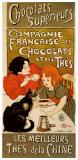 Le Chocolat Reproduction d'art par Théophile Alexandre Steinlen