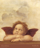 Detail of the Sistine Madonna  c1514
