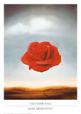Rose méditative, 1958 Reproduction d'art par Salvador Dalí
