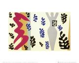 Le lanceur de couteau Reproduction d'art par Henri Matisse