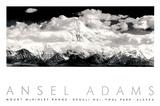Parc national et réserve de Denali, Alaska Reproduction d'art par Ansel Adams
