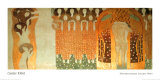 Frize de Beethoven Reproduction d'art par Gustav Klimt