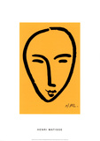Visage Sur Fond Jaune