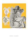 Centaure au trident Reproduction d'art par Pablo Picasso