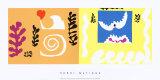 L'Oiseau et le Requin, c.1947 Reproduction d'art par Henri Matisse