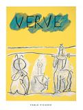 Cover For Verve, c.1951 Sérigraphie par Pablo Picasso