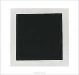 Carré noir Sérigraphie par Kasimir Malevich