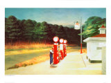 Gas 1940 Giclée par Edward Hopper