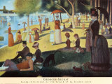 Sunday on la Grande Jatte  1884
