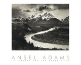 Snake River, États-Unis Reproduction d'art par Ansel Adams