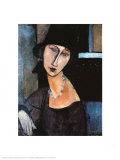 Jeanne Hebuterne a Cloche