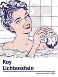 Woman in a Bath Reproduction d'art par Roy Lichtenstein