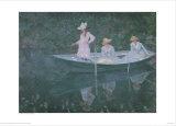 Boat at Giverny