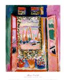 Fenêtre ouverte, Collioure, 1905 Reproduction d'art par Henri Matisse