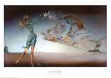 Mirage Reproduction d'art par Salvador Dalí