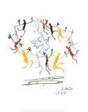 La ronde de la jeunesse Reproduction d'art par Pablo Picasso