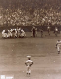 Bobby Thomson - 1951 Home Run Celebration (at home plate) - &#169;Photofile