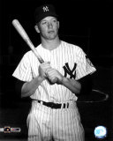 Mickey Mantle-  With Bat - &#169;Photofile