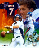 John Elway - Legends of the Game Composite - &#169;Photofile (Limited Edition)