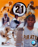 Roberto Clemente - Legends of the Game Composite - ©Photofile
