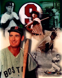 Ted Williams - Legends of The Game Composite - ©Photofile