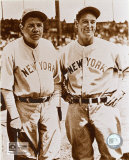 Babe Ruth and Lou Gehrig - &#169;Photofile