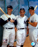 Roger Maris  Yogi Berra  and Mickey Mantle - ©Photofile