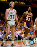 Larry Bird and Magic Johnson - ©Photofile
