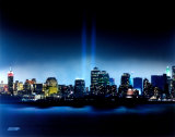 New York  New York - Towers of Light - September 11th Tribute - ©Photofile