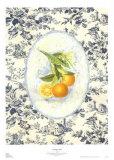 Orange Toile