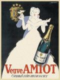 Veuve Amiot - Grands vins mousseux Reproduction d'art par Robert Falcucci