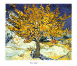 Mûrier à Saint-Rémy, 1889 Reproduction d'art par Vincent Van Gogh