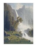 Bridal Veil Falls  Yosemite  c1871-73