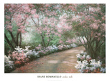 Azalea Walk artwork by Diane Romanello