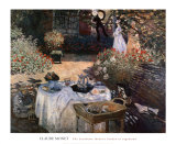 The Luncheon: Monet&#39;s Garden at Argenteuil